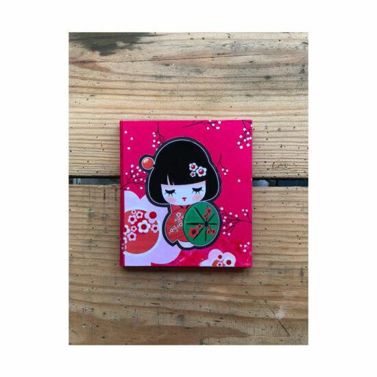 Cahier BB Geisha couverture