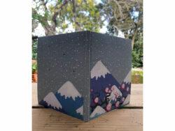 Carnet Fuji dos et couverture