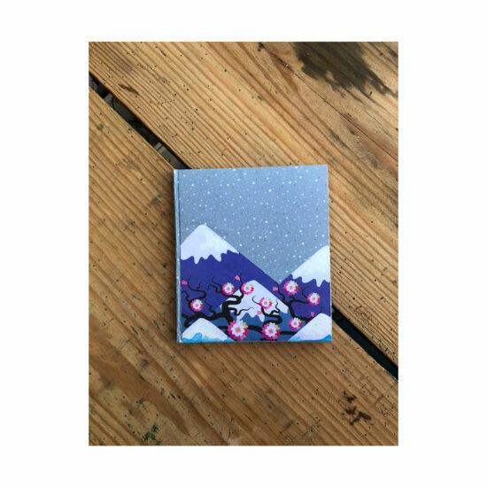 Carnet Fuji couverture